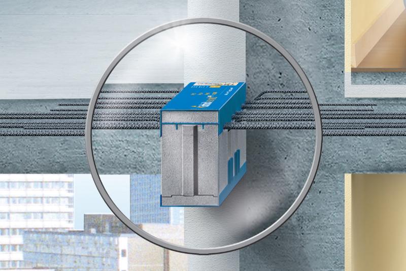 Isokorb for betong-betong