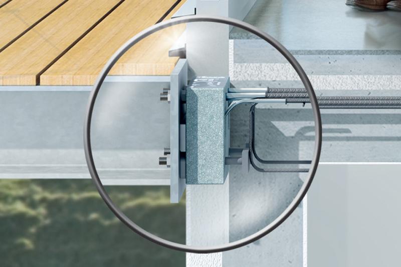 Isokorb for betong-stål