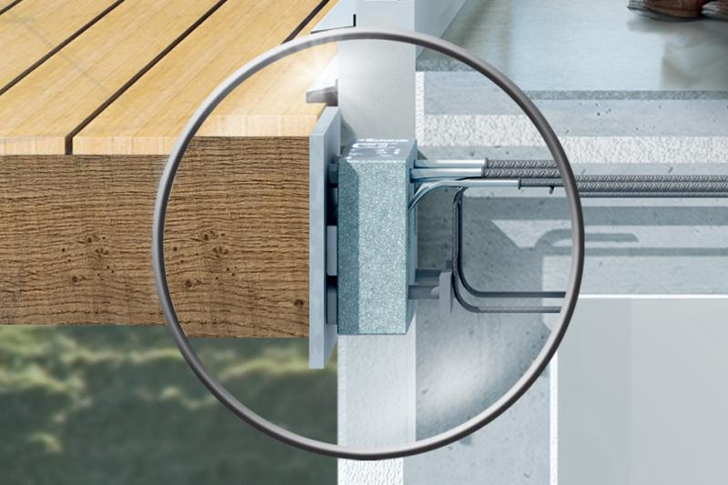 Isokorb for betong-tre