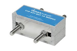 Isokorb for understøttede konstruksjoner