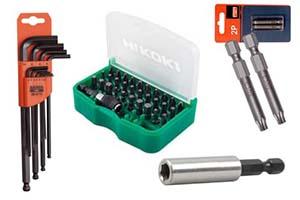 Piper, nøkler og skruverktøy