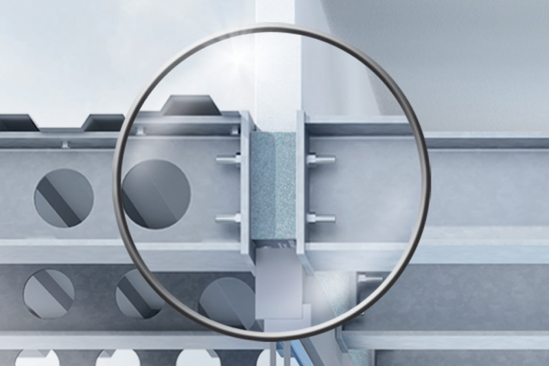 Isokorb for stål-stål